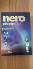 Nero 2018 Platinum 4K Multimedia Suite No. 1 6 in 1 New Retail Box Video Editing