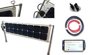 Kit Draglie pannello solare flessibile 52 W SunPower® + regolatore + accessori
