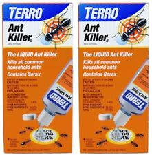 Terro Liquid Ant Killer ll Lot of 2 - 2 oz. Bottles Pest Control Borax