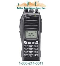 NEW ICOM IC-F4161T-46, UHF 450-512 MHZ, 5 WATT, 512 CHANNEL TWO WAY RADIO