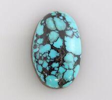 Natural Spiderweb Turquoise Nevada Single Gemstone Gem Stone Cabochon snv097
