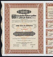1937 Poland: Warszawskie Towarzystwo Fabryk Cukru
