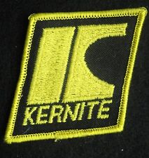 KERNITE EMBROIDERED SEW ON PATCH LUBRICANTS VOLKSWAGEN ADVERTISING UNIFORM