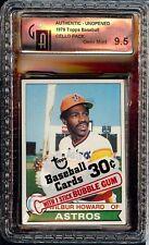 Rare 1979 Topps Baseball Cello Unopened Pack Graded GAI 9.5 Gem Mint Howard
