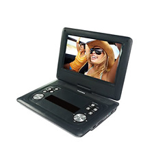 Sylvania SDVD1251-B-PDQ 12-Inch Swivel Screen Portable DVD Player with USB and S