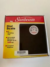Sunbeam Sab998D-41 Dial Scale, White with Black Mat