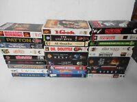 VHS VCR Tapes Lot Of 27 Grease Flintstones Green Mile Patton Godzilla