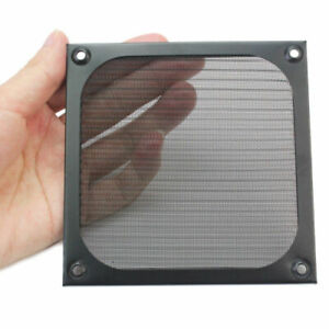 PC Dust Filter 120X120mm Computer Case Fan Guard Grill Dustproof Black hu4d s88