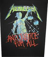 "METALLICA RÜCKENAUFNÄHER / BACKPATCH # 12 ""AND JUSTICE FOR ALL"""