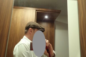 Johnston and Murphy ivy flat cap