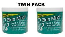 2 X Original Blue Magic Bergamot Hair and Scalp Conditioner 12 oz/340g