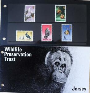 "Jersey Stamps: ""Wildlife Preservation - Wildlife III"" MNH Presentation Pack 1979"
