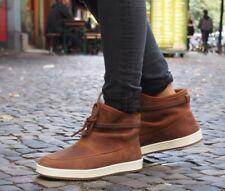 HUB Footwear Schuh QUEEN Boot dogwood braun Stiefelette gefüttert Echtleder NEU