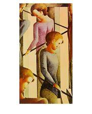 Oskar Schlemmer escenario en la escalera póster son impresiones artísticas imagen 72,5x57,3cm