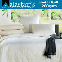 Alastairs Bamboo Duvet Doona Quilt Chemical Free Eco Friendly 200gsm Super King
