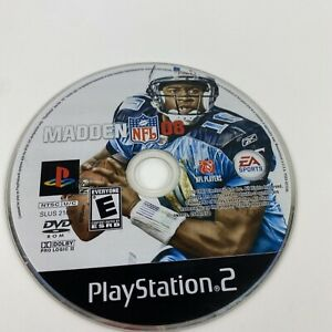 Madden NFL 08 (Sony PlayStation 2, PS2) - Disc Only Tested Free Shipping