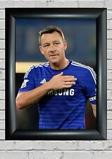 More details for john terry - large a3 to a5 poster - frames available - - free uk p&p