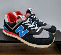 New Balance Running Shoes ML574SOV Neo Classic Blue Nebula size 10.5 Men's Retro
