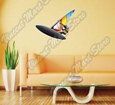 "Windsurfing Surf Windsurfer Water Sport Wall Sticker Room Interior Decor 22""X22"""