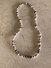 "Handmade Retro Hawaii Surfer Shell Necklace | Choker 18"""