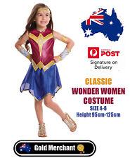 Wonder Woman Classic Costume - Size 4-6 Batman Vs Superman  Height 95cm-125cm