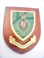 RUC Royal Ulster Constabulary Police Shield Wall Plaque