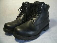 RUGGED OUTBACK BLACK WATERPROOF BOOTS / SIZE US 11 W / EUR 44.5 MEN'S