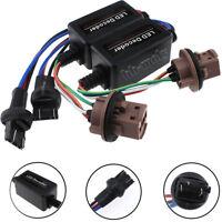 2x T20 7443 W21/5W LED Error Canceller Canbus Load Resistor Hyper Flash Decoder