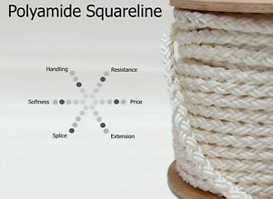 Mooring Line | Cousin Trestec | Squareline | Anchoring Line | Rope By The Meter