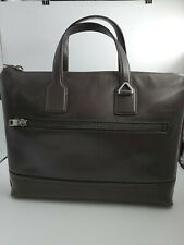 New Bally Tammi Briefcase Business Bag Leather MSRP $1360  Chocolate Brown