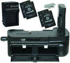 NX-NBGD3100-4BATT-MF-CH Replacement Battery Grip for Nikon D3100 D3200 D3300