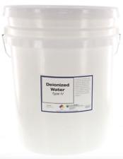 Chemworld Deionized Water (Type IV) - 5 Gallon Pail