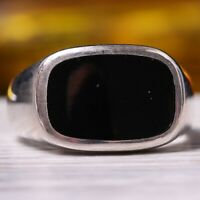AAA  handmade 925 Sterling silver turkish new design onyx stone mens ring US
