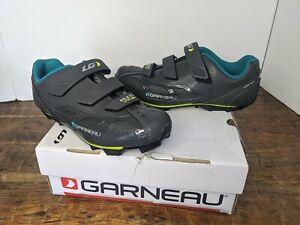 Louis Garneau Women's Size 10 Multi Air Flex Bike Shoes Cycling Asphalt ( gray )