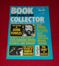 BOOK AND MAGAZINE COLLECTOR NO.65 AUGUST 1989