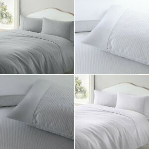 Luxury Percale Waffle Weave Textured Polycotton Duvet Cover Set & Pillowcases