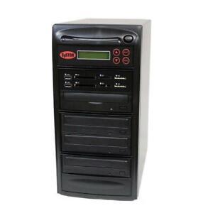 SySTOR 1-3 MultiMedia PLUS - Flash Memory to Disc Backup+DVD Duplicator