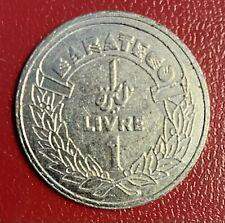 Lebanon Liban 1 livre Barateco STAMBOULI Beirut token jeton coin