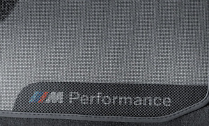 BMW GENUINE M PERFORMANCE REAR CAR MATS - BMW F32 and BMW F82