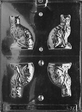 A037 3D Cat Chocolate Candy Soap Mold with Instructions