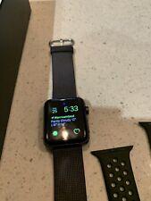 Apple Watch Series 2 - 42mm Space Grey Aluminum NIKE Sports Version MQ182X/A