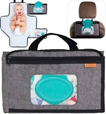 Smart Changing Kit Portable Diaper Changing Pad With Front Wipe Pocket