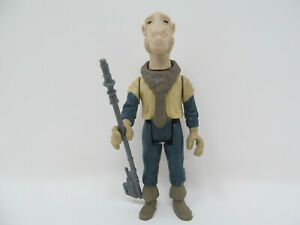 """Yak Face reproduction vintage-style Star Wars action figure w/ weapon Yakface 4"""""""