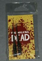 THE WALKING DEAD NEGAN LUCILLE BRASS EARRINGS FROM HAN CHOLO BRAND NEW SKYBOUND