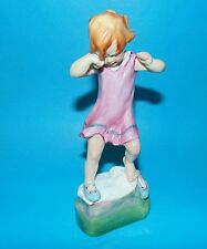 ROYAL WORCESTER Figurine ornament ' Wednesdays child ,girl  ' #3259 1st Quality