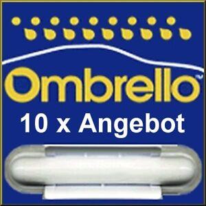 10 x Ombrello Scheibenversiegelung Glasversiegelung mit Anleitung + Infoflyer