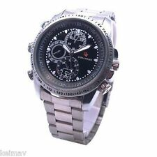 Stainless Steel Camera Watch (Silver)