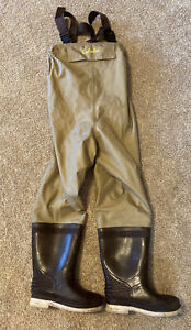 Cabela's Felt Sole Chest Waders Size 3 Streams Rivers Fly Fishing Lightly Used