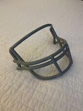 Vintage Nos Red Dot Schutt football helmet facemask Opo double wire Gray