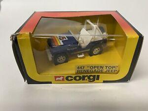 Corgi Renegade Open Top Jeep